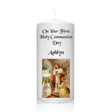 Communion Candle Girl