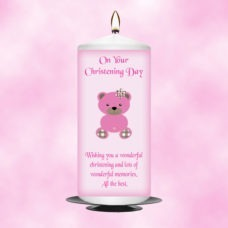 Christening Candle Girl 0336
