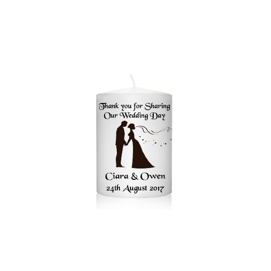 Personalised Wedding Favour Brown