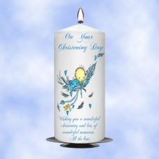 Christening Candle Boy 0367