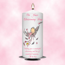 Christening Candle Girl 0368