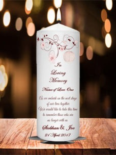 Wedding Remembrance Candle Birds Cage