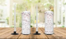 Wedding Unity Candle Set And Remembrance Candle Birds Cage